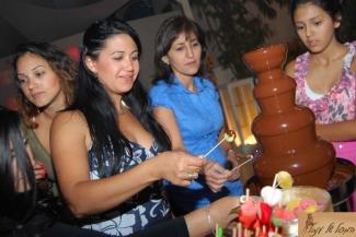 מפלי שוקולד לארועים