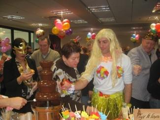 מפלי שוקולד למסיבות