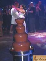 מפלי שוקולד לחתונה