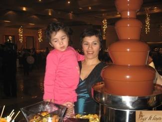 מפל שוקולד לבריתה