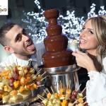 בר ממתקים ומפלי שוקולד חתונה איילת ואסף 18/9/2011