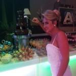 בר ממתקים ומפלי שוקולד חתונה רון ורויטל 7/2/2012